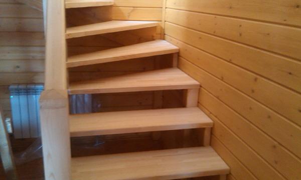Изготовление деревянных лестниц в Челябинске - Home